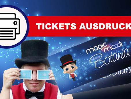 Tickets bestellen Online
