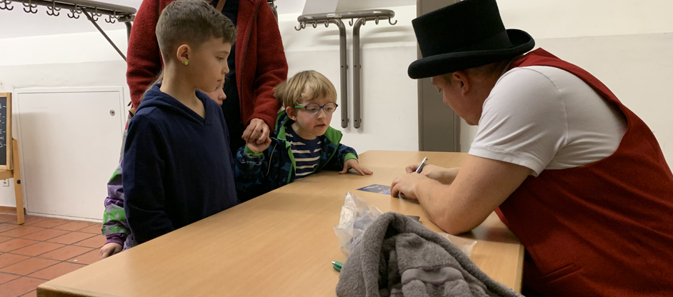 Kinder Zauberer MagicMaxli