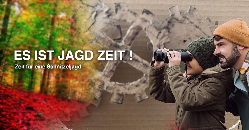 Herbstferien Schweiz Tipp Schnitzeljagd