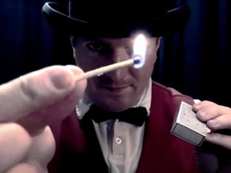 FEUER - Zaubertricks mit Feuer