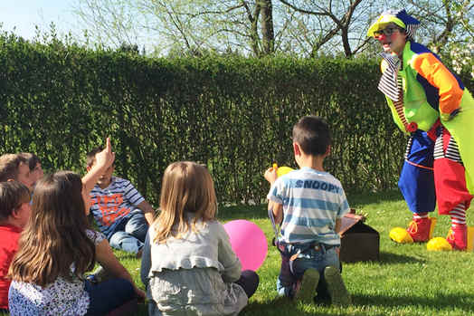 Clown für Kinder mieten