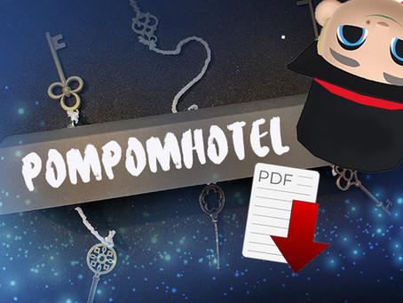 Zaubertrick PomPomHotel Bauanleitung