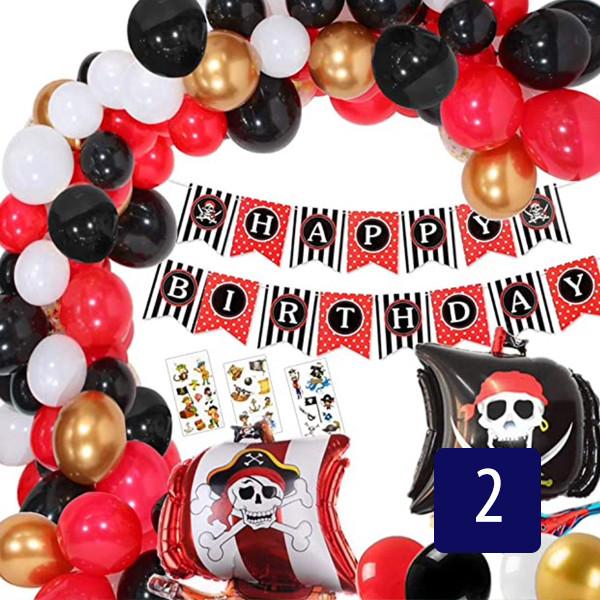 ballon-dekoration-günstig-schweiz-pirate