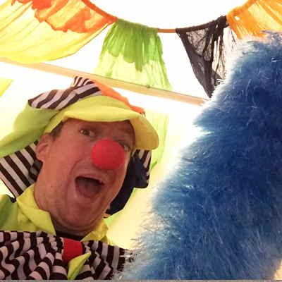 Lustiger Clown mieten