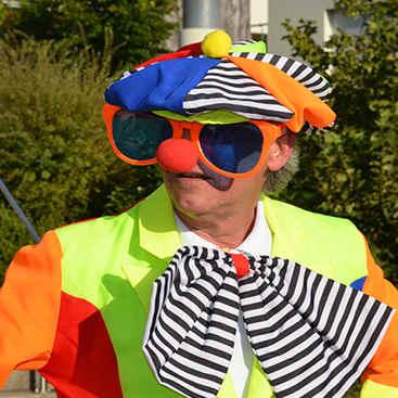 Clown für den Kindergeburtstag