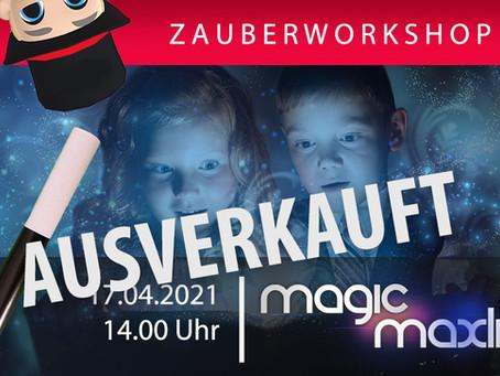 Privat Stunde Zauberworkshop Online für Kinder