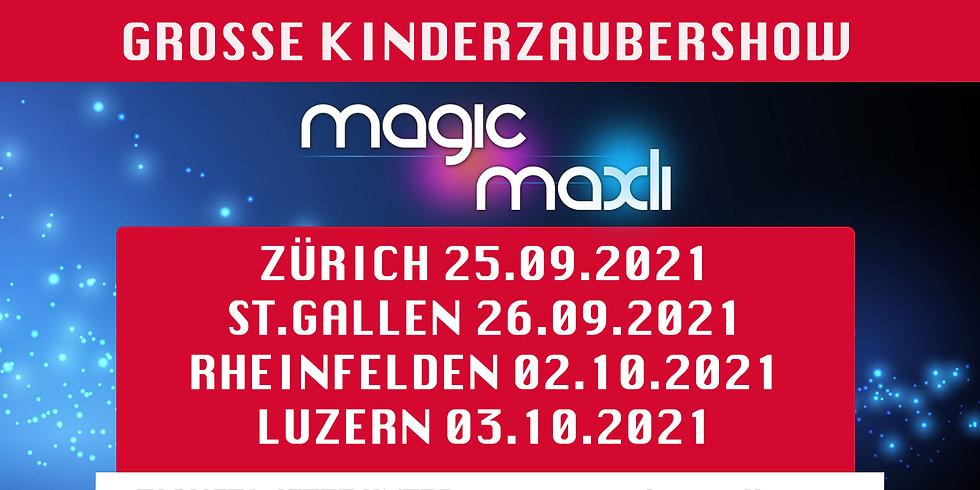 ZÜRICH - Grosse Kinder Zaubershow FANTASY BOTANIA