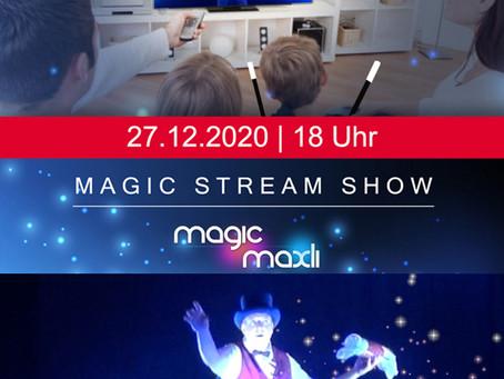 Magische Kraft für Kinder mit der Magic Stream Show