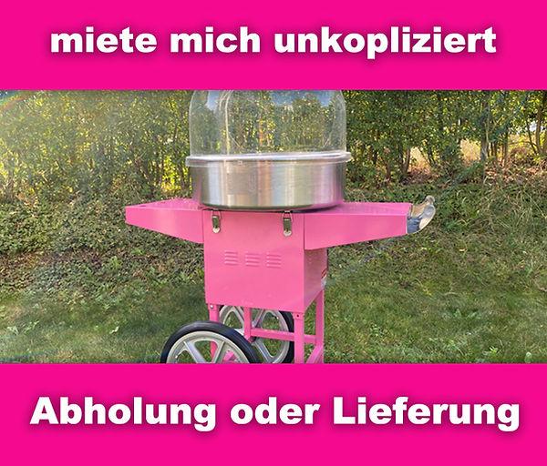 Zuckerwattemaschine-aargau-zürich-mieten