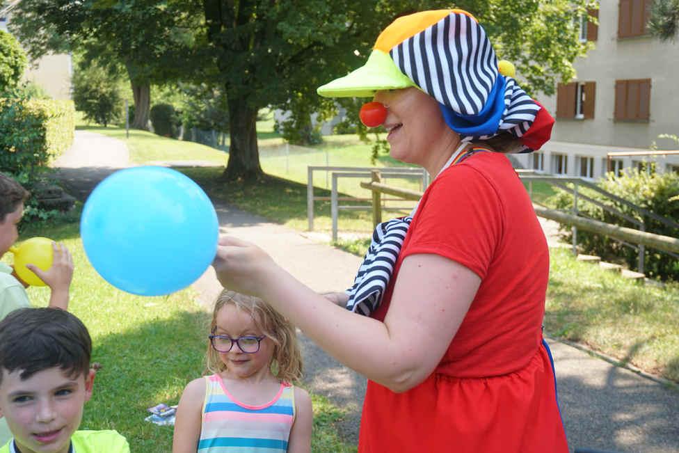 Kindergeburtstag Ballonkünstler