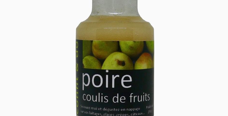 Coulis de Poire