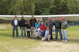 Primer planeador goat construido en bogota colombia, ultraliviano, vuelo a vela