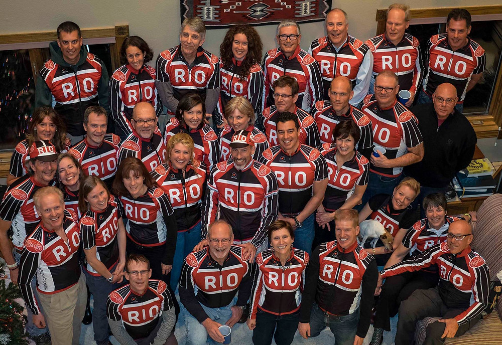 RIO Cycling Club Party Photo