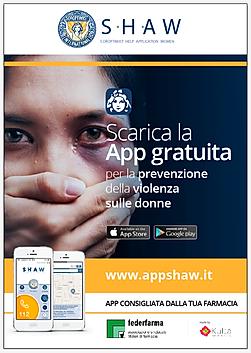 Locandina Prevenzione della violenza sulle donne