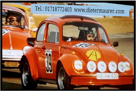 Käfer - DIeter Maurer -Visitenkarte - Vo