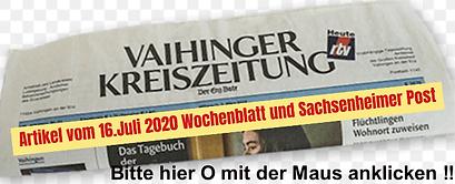 Artikel Wochenblatt und Sachsenheimer Po