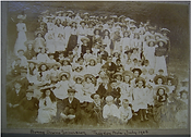 4 Children's outing to Theydon Bois 1906