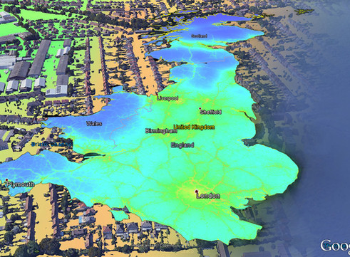 EarthSense Release New Nationwide Map of Air Pollution. MappAir®