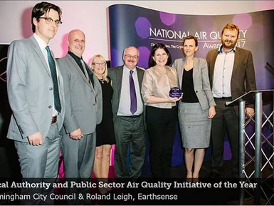 EarthSense Sponsors Local Authority & Public Sector Air Quality Initiative of the Year