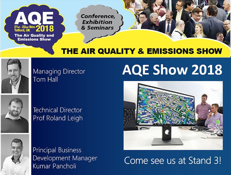 We're attending AQE 2018!