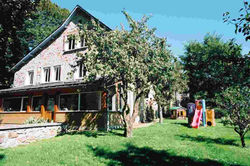 Les Mésanges façade Sud Ouest