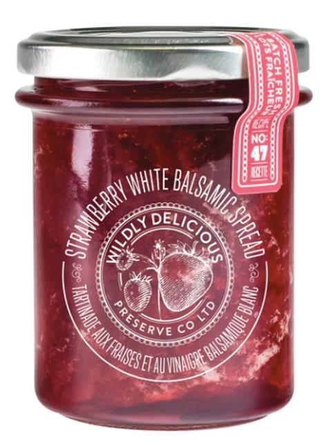 Strawberry White Balsamic Spread