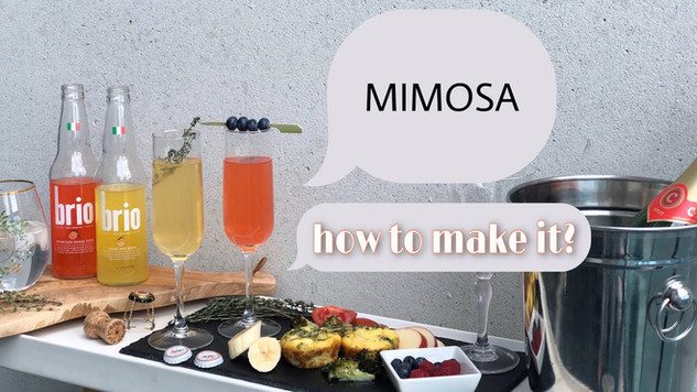 How to make MIMOSA?