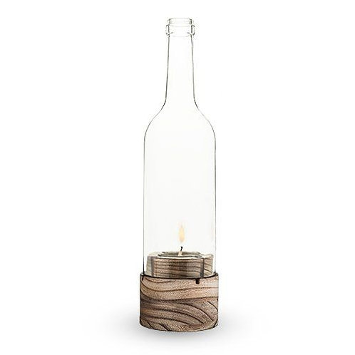 Bottle Shaped Candle Holder