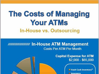 Managing ATMs: In-House vs. Outsourcing [Infographic]