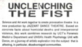 Unclenching The Fist