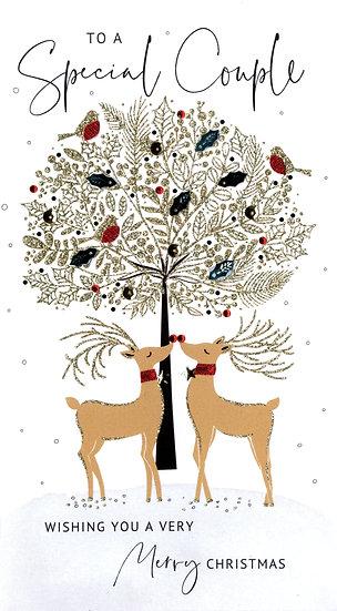 Special Couple Reindeer- Handmade