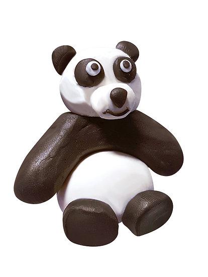 Plasticine Animal Modelling Kit - Panda