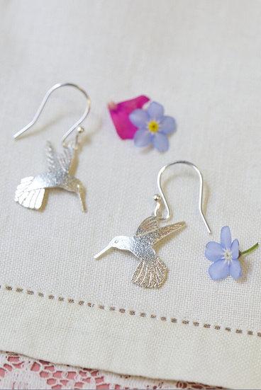 Silver Humming Bird Drops