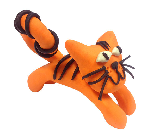 Plasticine Animal Modelling Kit - Cat