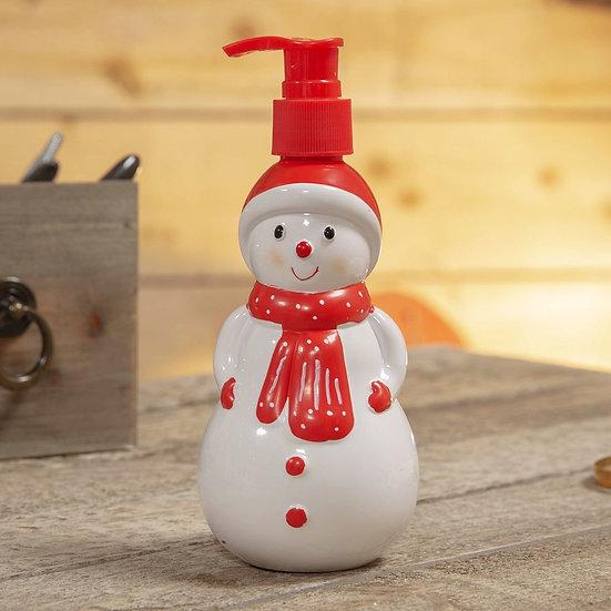 Hand Soap Snowman