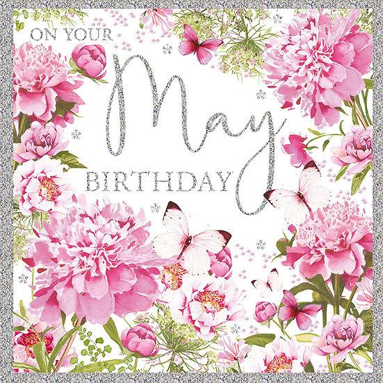 May Birthday Card