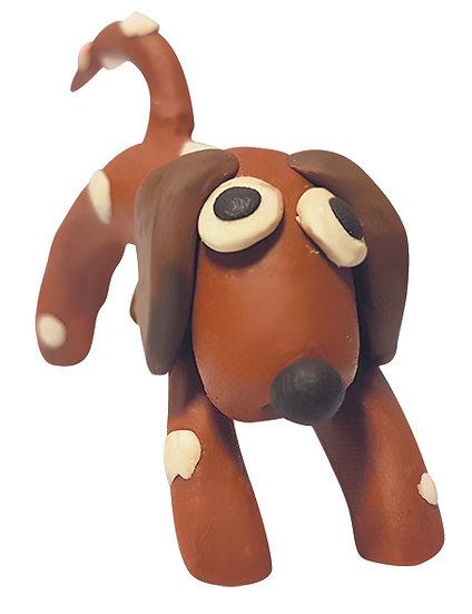 Plasticine Animal Modelling Kit - Dog