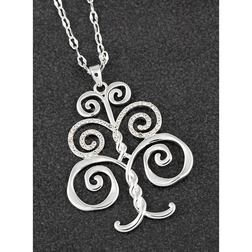 Equilibrium Artisan Tree of Life pendant with CZ