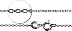 """925 Silver Chain fine 16""""/41cm"""
