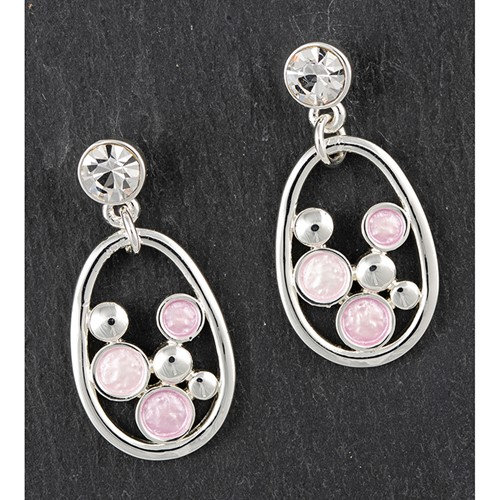 Equilibrium Pastel Pink Earrings