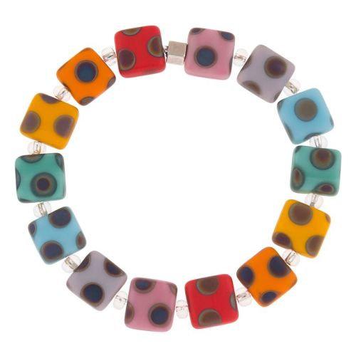 Carrie Elspeth Dotty Rainbow Bracelet