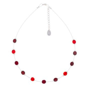 Carrie Elspeth Red Bohemian Necklace