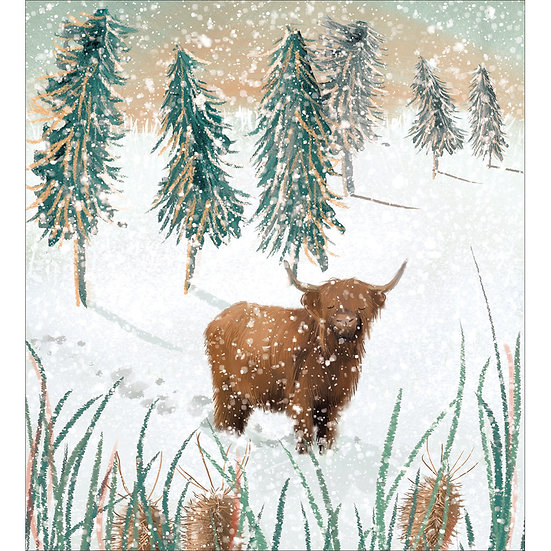 Charity Card Pack Let it Snow