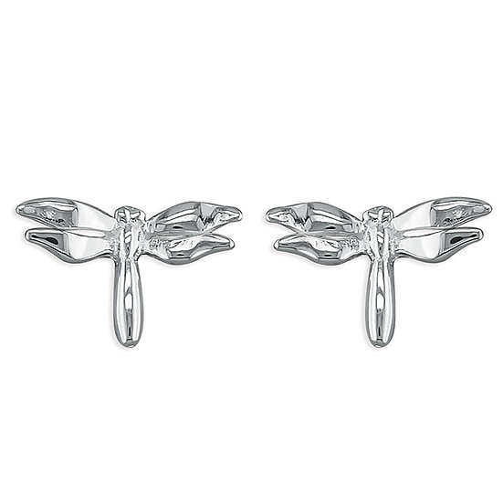 925 Silver Dragonfly Studs
