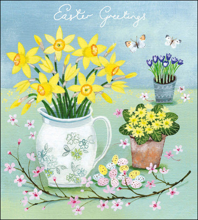 Pack of Floral Easter Cards