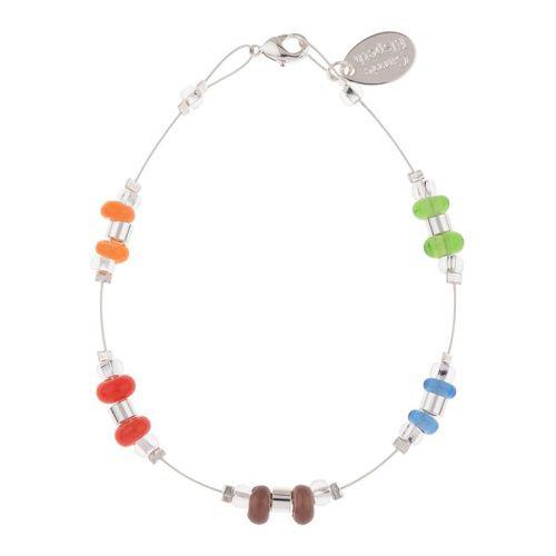 Carrie Elspeth Rainbow Rings and Barrels Bracelet