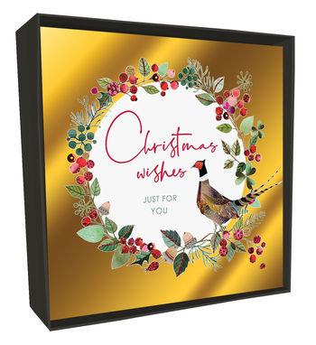Luxury Christmas Card Box - Pheasant