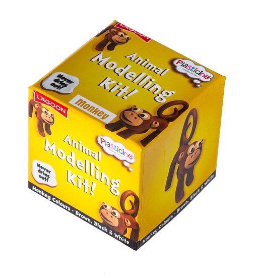 Plasticine Animal Modelling Kit - Monkey