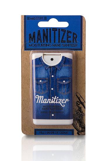 Manitiser Sanitiser for Men Aqua