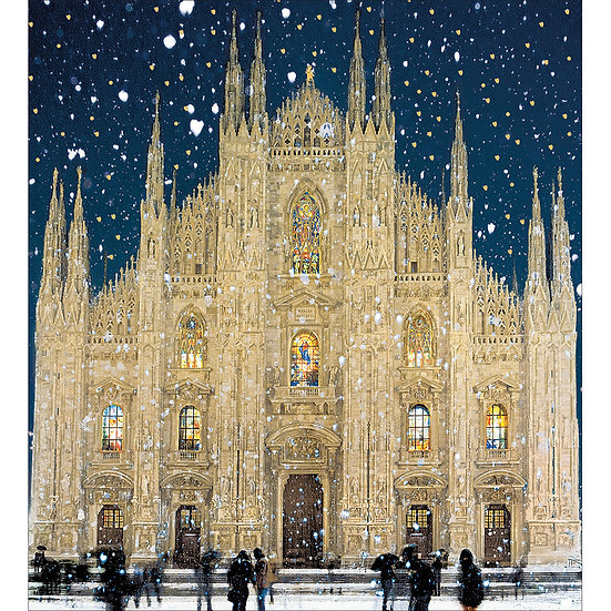 Charity Card Pack Cathedral in Snow